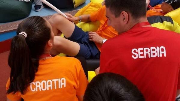 Игры победителей, Сербия, Подари жизнь, соревнования