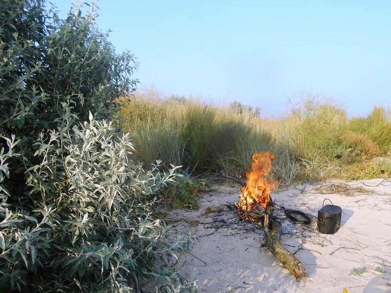 Огонь, на стоянке туристической ... DSCN7464.JPG