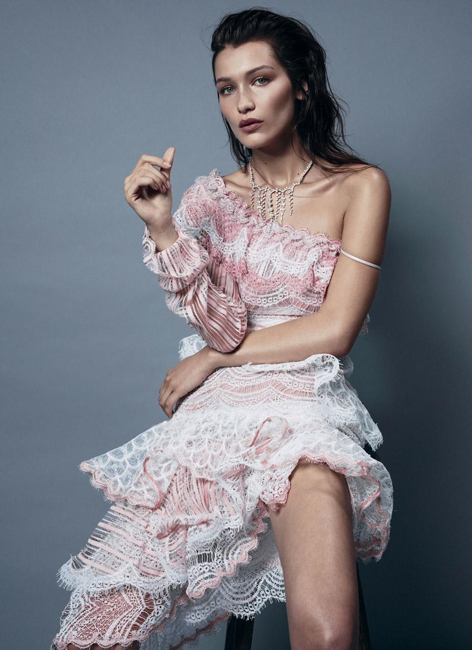 Bella Hadid / Белла Хадид в журнале Harper's Bazaar Australia, август 2016 / фотограф Georges Antoni
