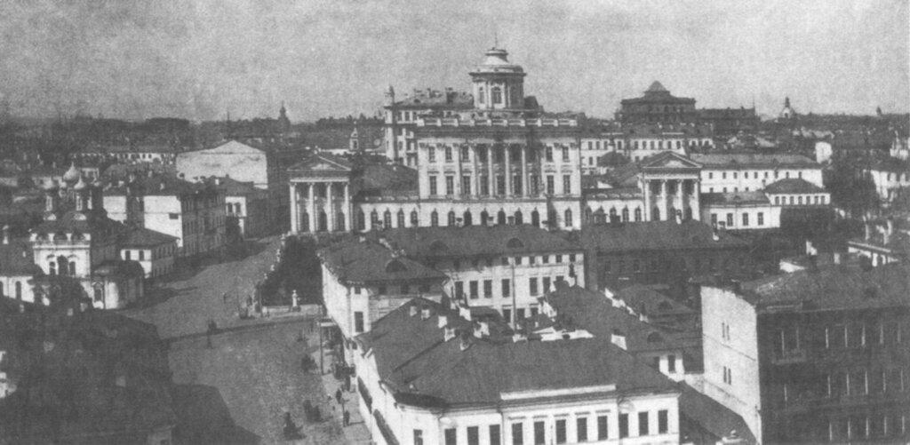 6968 Пашков дом и окрестности. Вид с Боровицкой башни кремля 1910-е.jpg