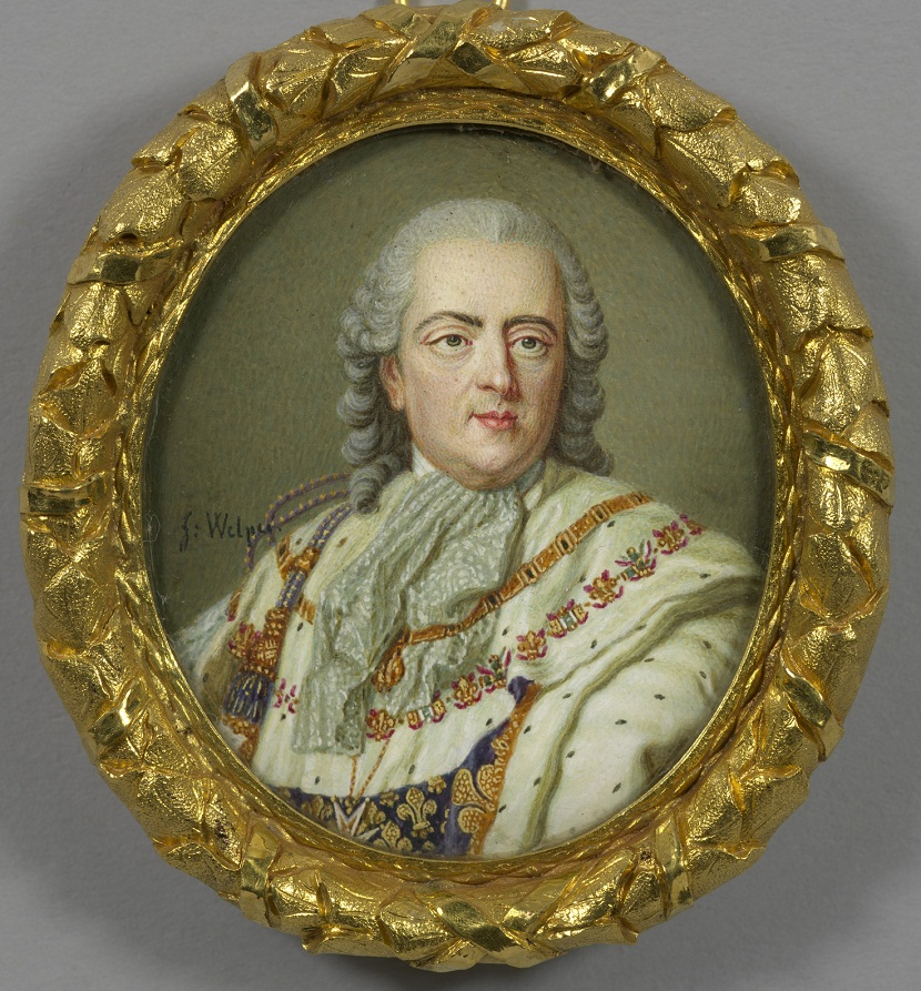 Jean-Daniel Welper (1730-89)Louis XV (1710-1774)  1761-89