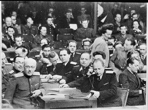 Советские правоведы на процессе