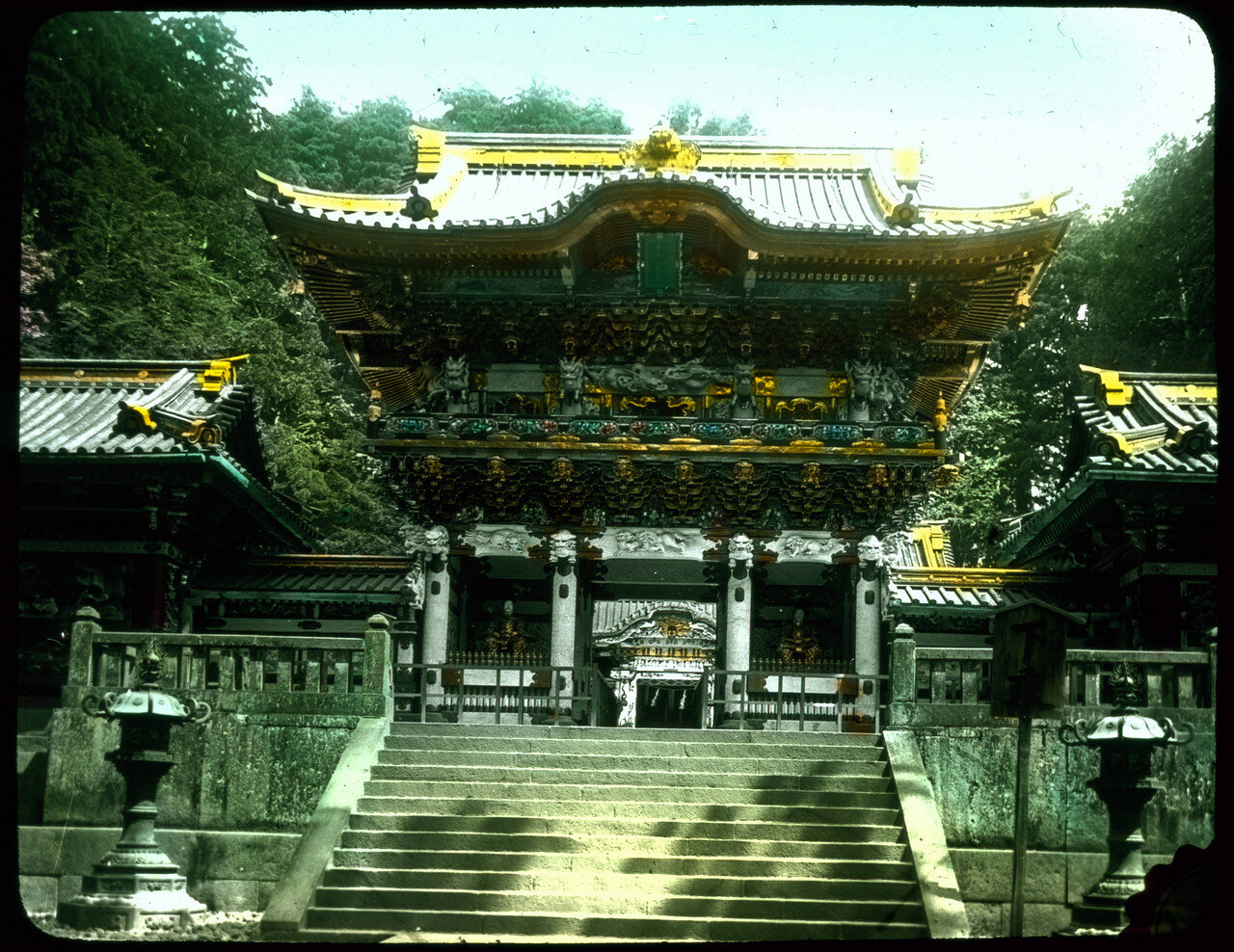 Никко. Тосё-гу. Ворота Ёмэймон. 1910