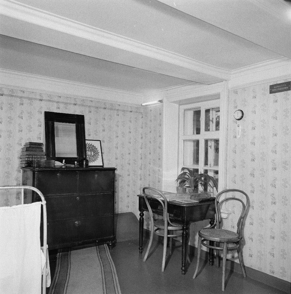 Дом-музей Ленина. Спальная