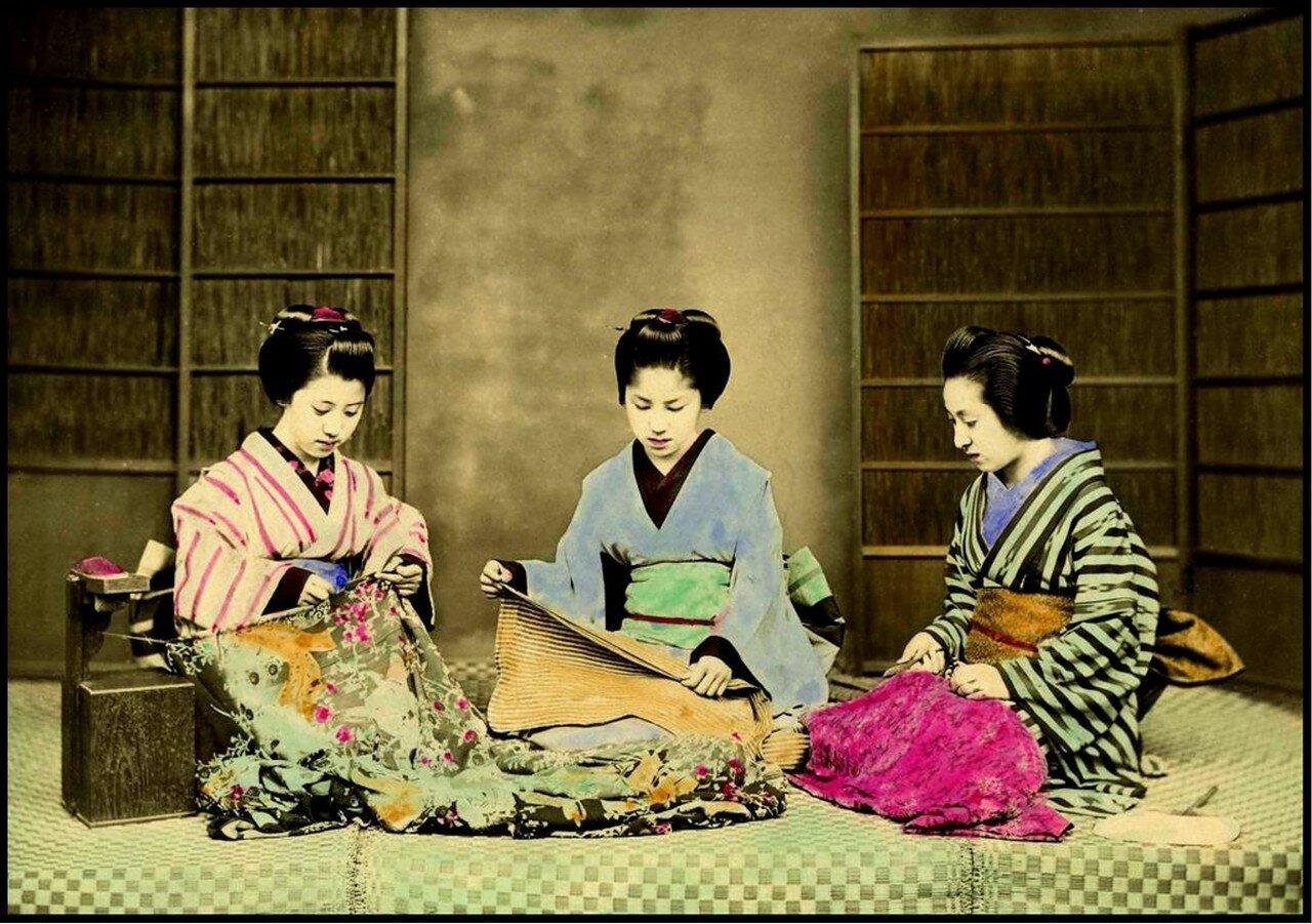 Починка кимоно
