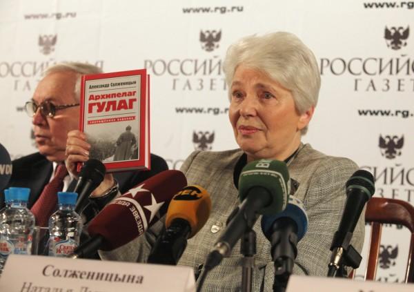 06-Наталья Солженицына представила в РГ однотомник Архипелаг ГУЛАГ