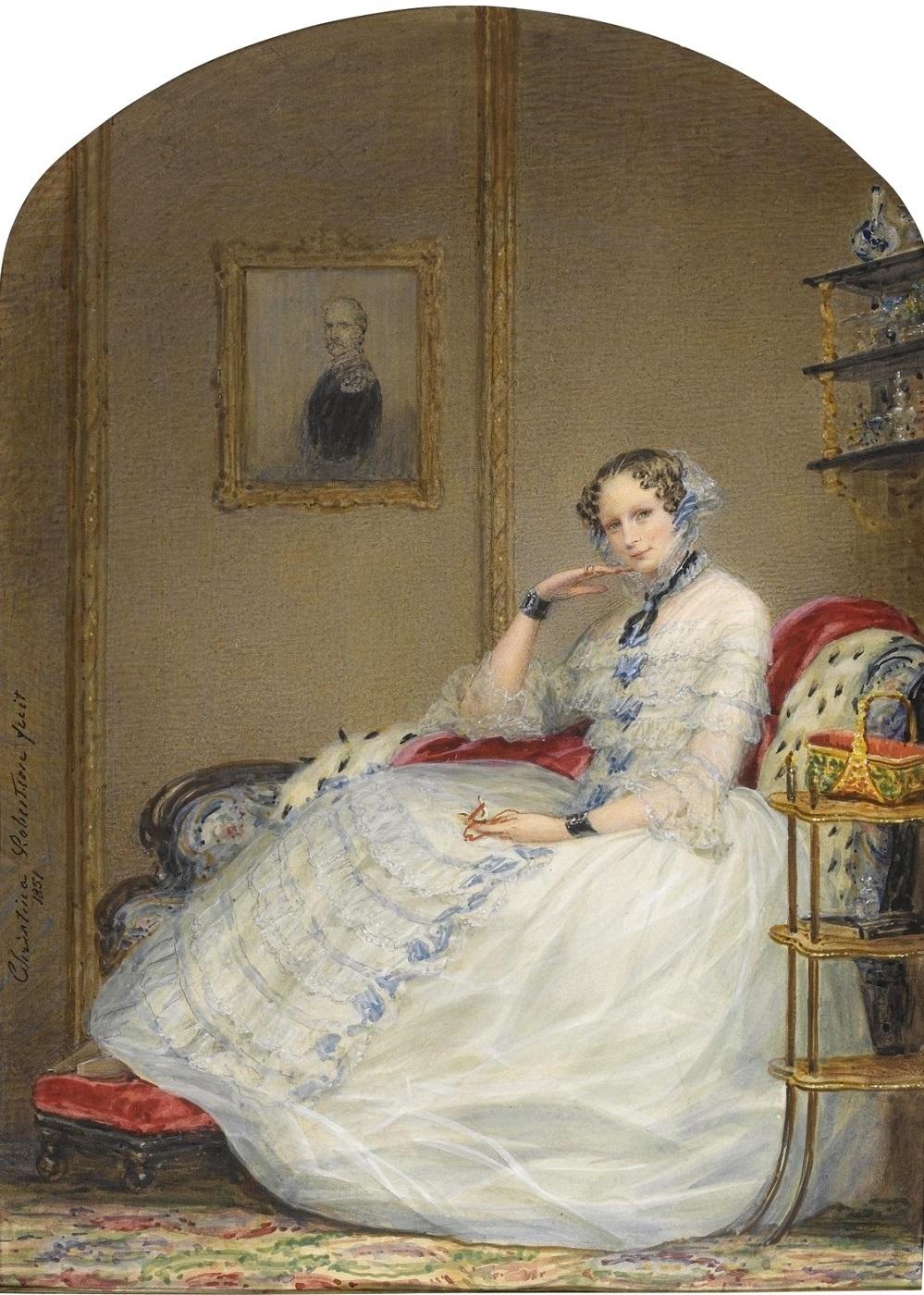 1851 Императрица Александра Федоровна (Empress Alexandra Fedorovna) Частное собрание