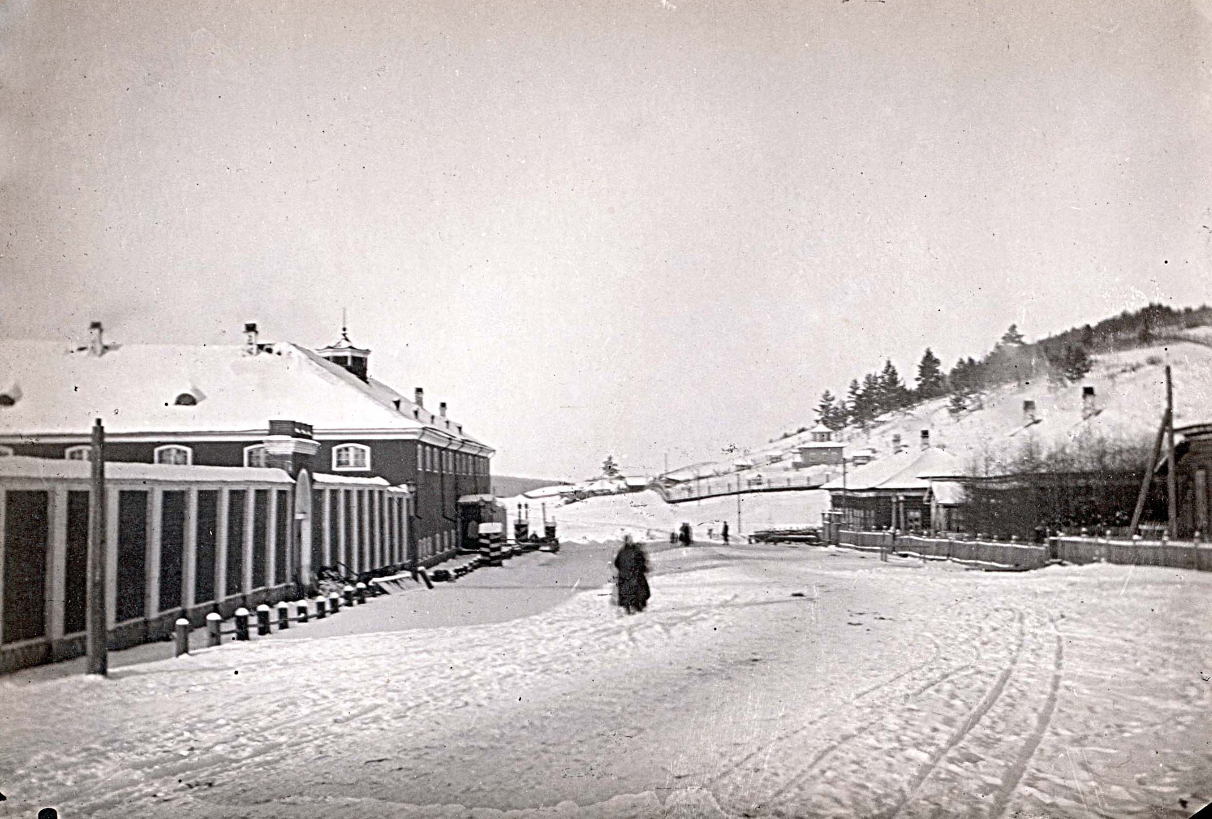 Окрестности города. Александровская центральная тюрьма, около шестидесяти вёрст от Иркутска