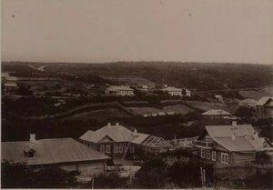 1890. Панорама поста Корсаков
