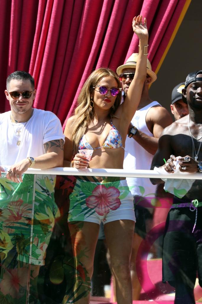 Jennifer Lopez hosts Carnival Del Sol in Las Vegas