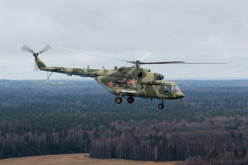 Миль Ми-8МТВ-5 (RF-90671 / 34 красный) ВКС России 042_D800156