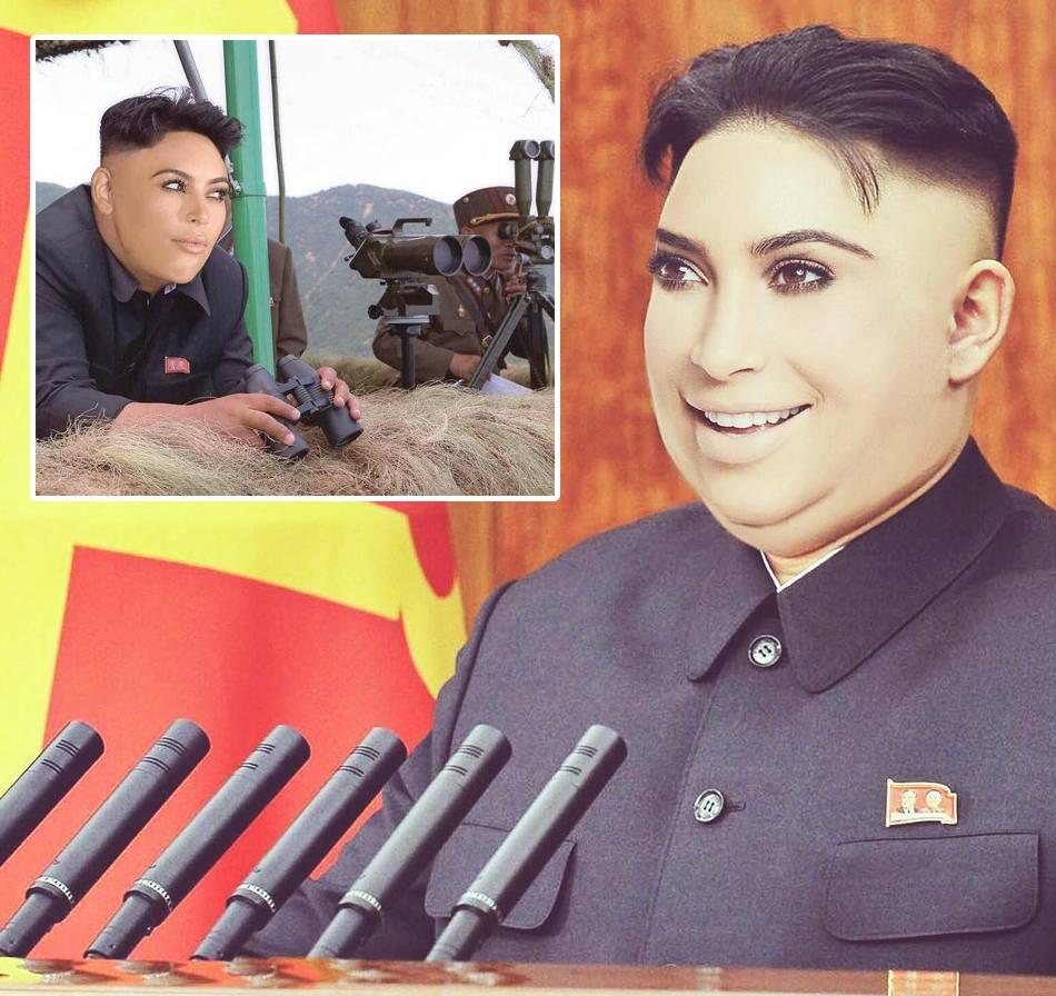 Двое самых популярных Кимов в одном лице: Ким Чен Кардаш-Ын