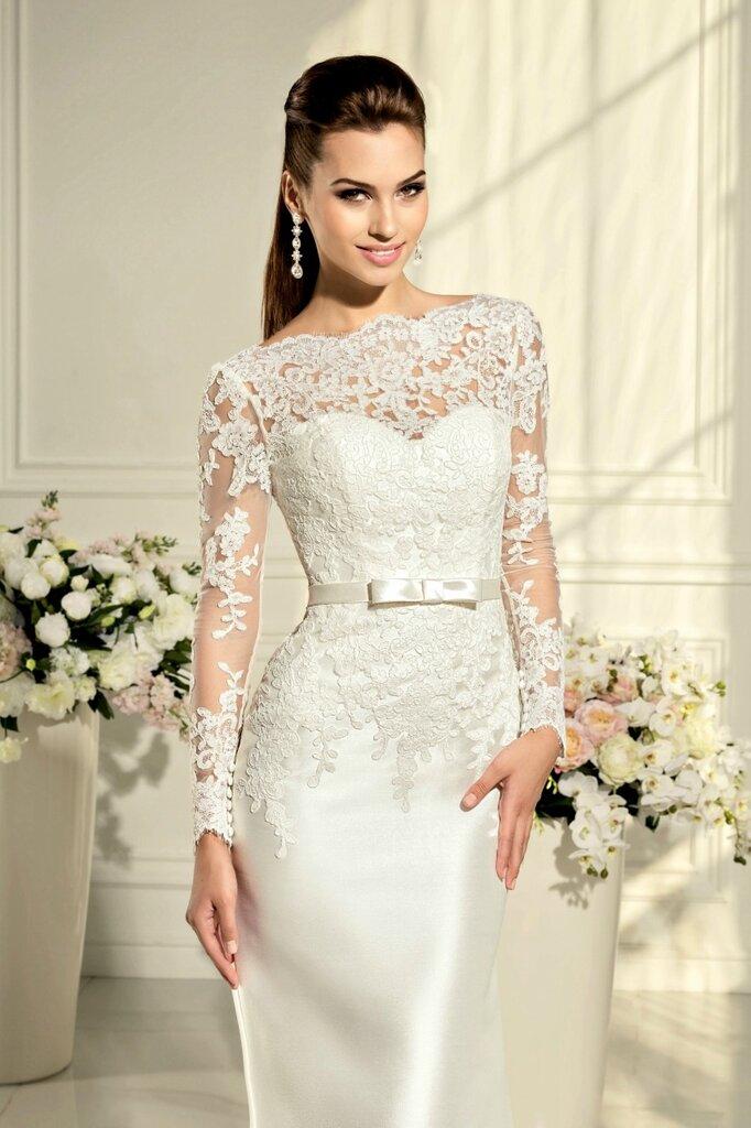 Хочу свадебное платье кружевной верх
