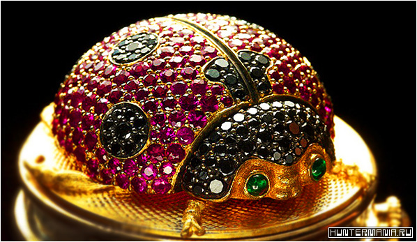 Часы Божья коровка ladybug Andreas von Zadora