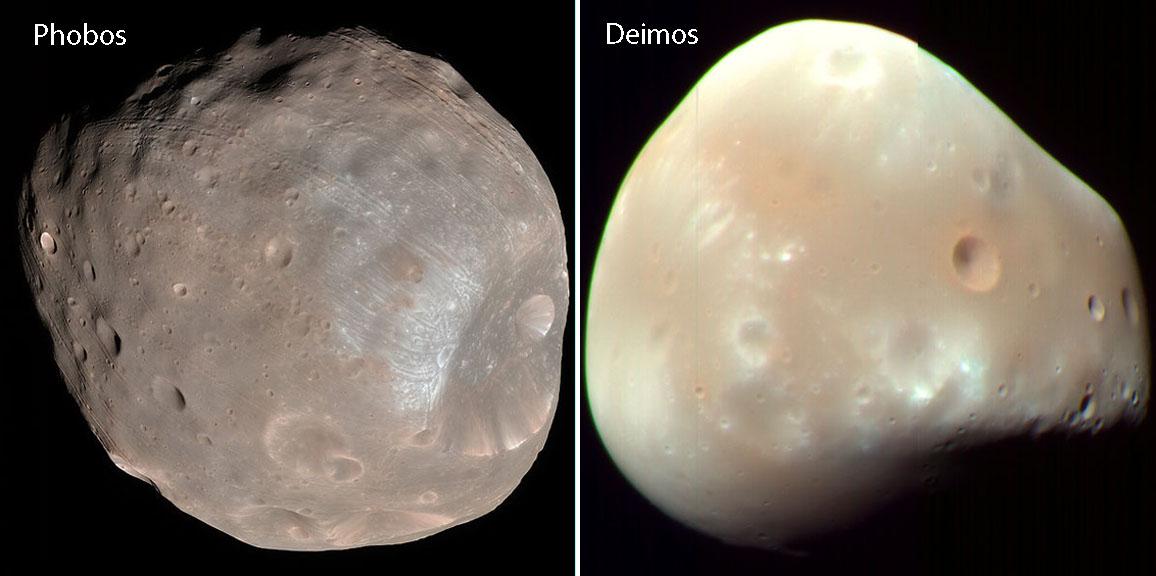 Уточнены размеры тела породившего Фобос и Деймос