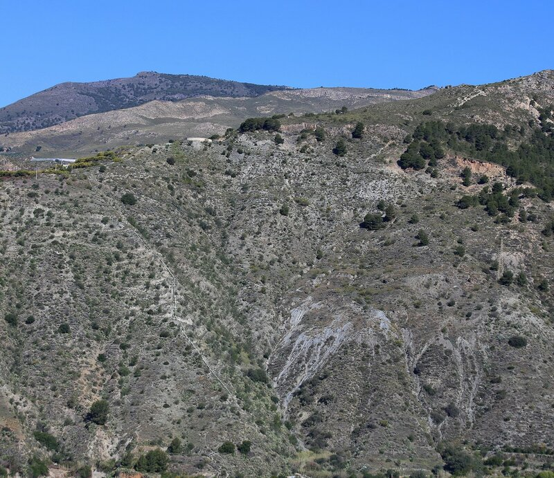 Велес-де-Бенаудалья. Вид от крепости Ульоа (Miradoro del Castillo)