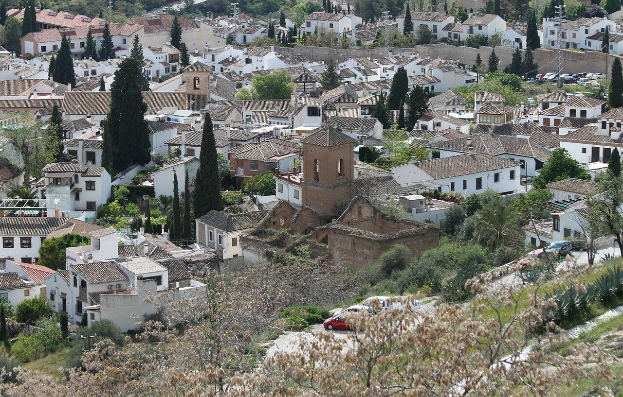 Granada. View from San Miguel hill