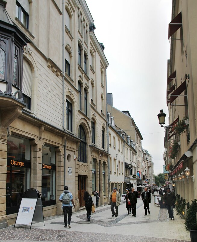 Luxembourg Rue Chimay