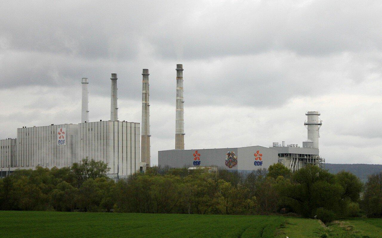 Лотарингия. ТЭЦ EDF Бленод (La centrale thermique EDF de Blénod)