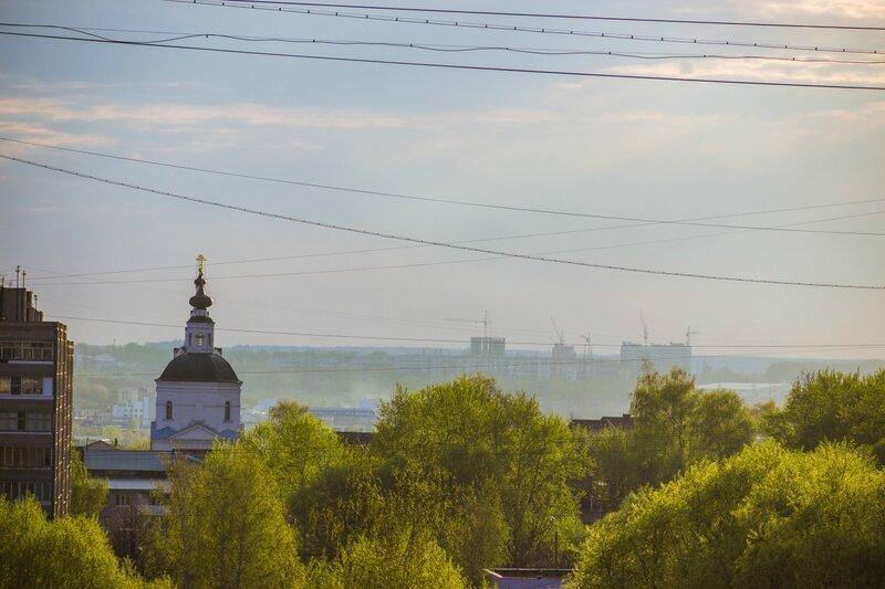 Фотки с балкона начало мая