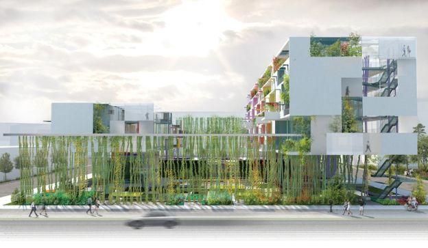 Проект «Skyfarm», разработанный архитекторской компанией «Rogers Stirk Harbour + Partners», это отли