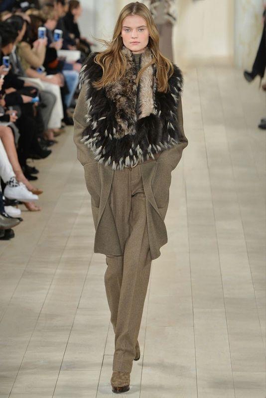 Неделя моды в Нью Йорке: Ralph Lauren осень-зима 2015