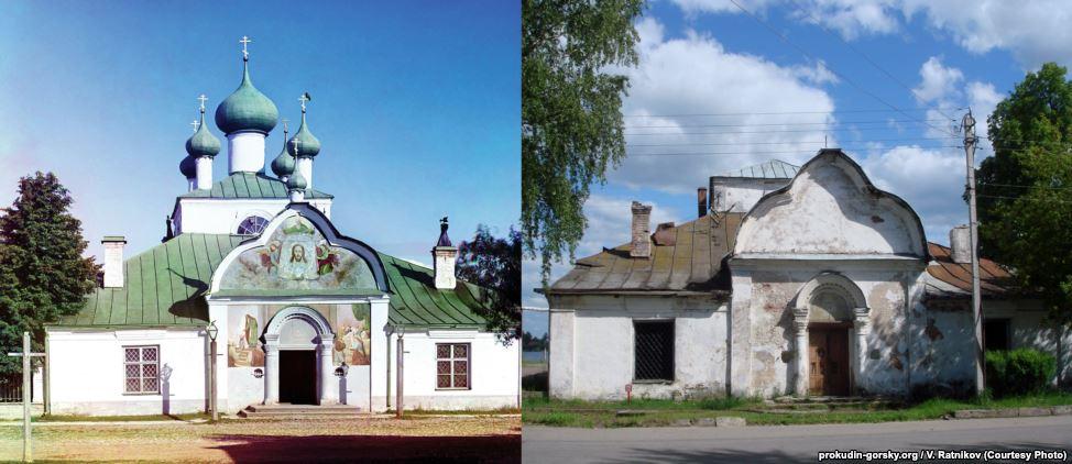 Церковь в Новой Ладоге. 1909 / Дата неизвестна. Фото: В. Ратников.