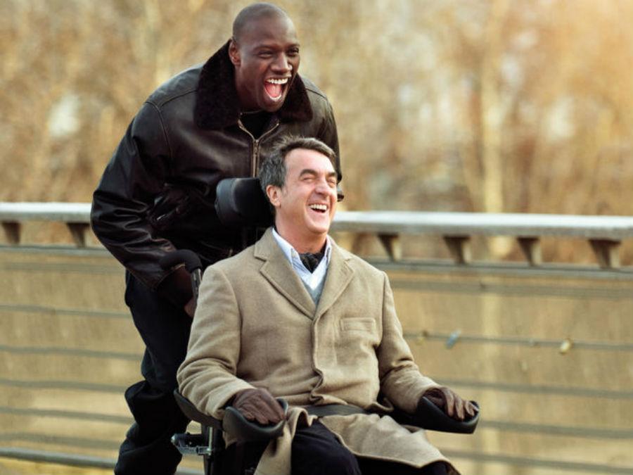 Филипп и Дрисс из фильма «1+1» (оригинальное название — «Неприкасаемые»).