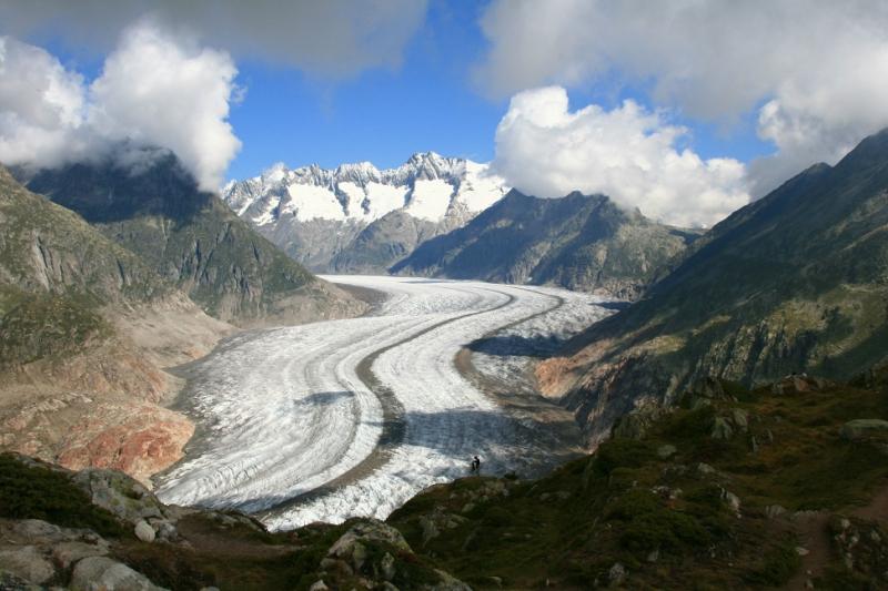 Самые красивые крупнейшие ледники мира: Алеч, Швейцария