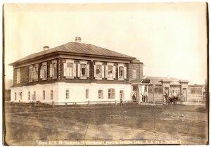 Больница II санитарного участка Западно-Сибирской ж.д. в Кургане