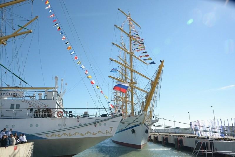Награждение победителей 2-го этапа Черноморской парусной регаты