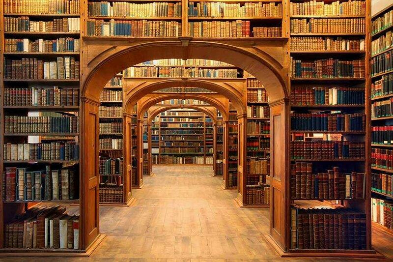 Научная библиотека Oberlausitzische, Гёрлиц, Германия.