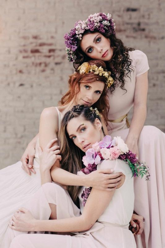 Свадебные фото актрисы Джули Макнивен (ангел Анна)