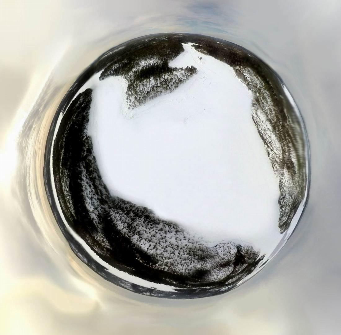 Круговая панорама с кайта