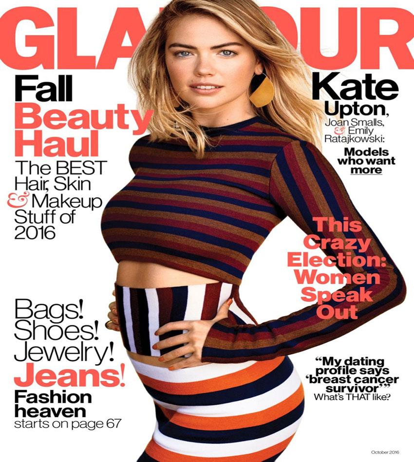 Kate Upton - Glamour US (October 2016)