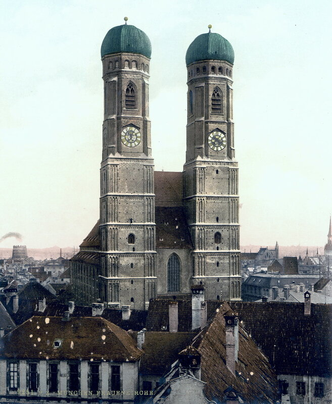 Фрауэнкирхе, конец XIX века