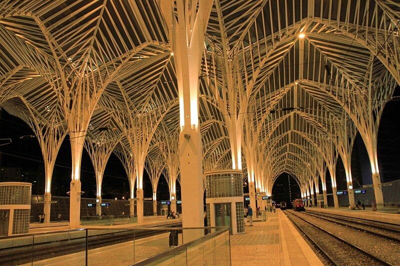 Вокзал Ориенте, Лиссабон, Португалия (Oriente Station, Lisbon, Portugal)