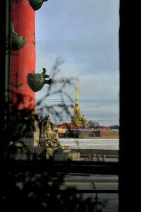 А из нашего окна.... Петропавловка видна