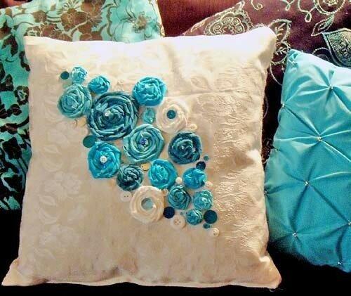 Идеи декорирования подушек.Создаем настроение и уют