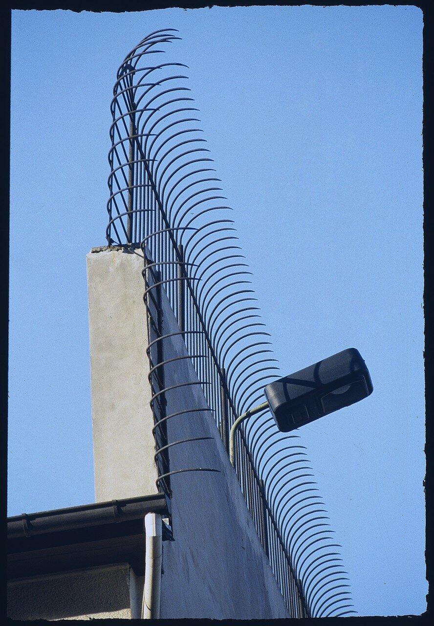 Восточный Берлин. Деталь стены возле Фридрихштрассе