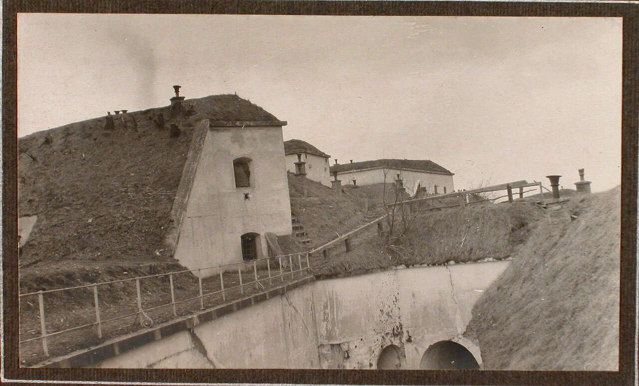 31. Вид на укрепления форта № 1 группы Седласка