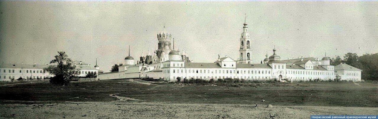Николо-Бабаевский монастырь. Общий вид