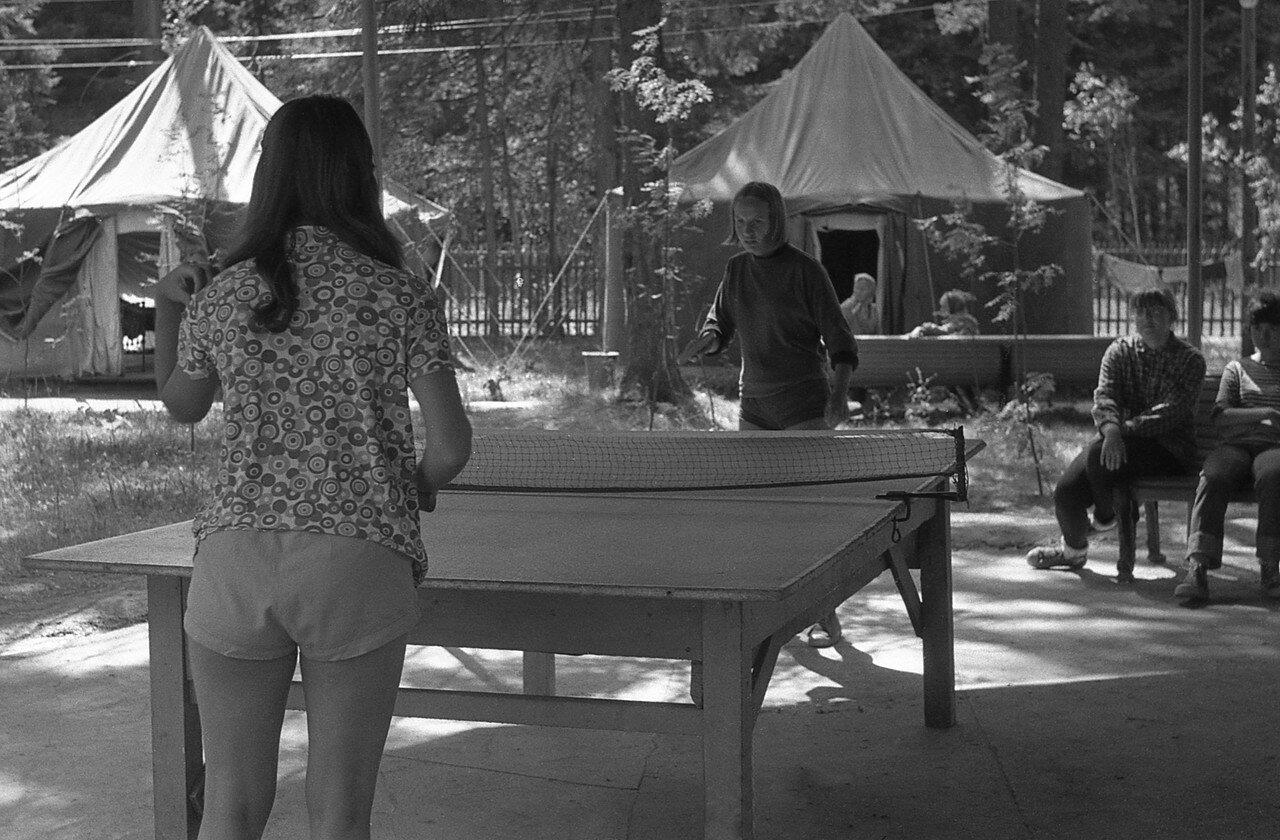 15. Настольный теннис - тренировка
