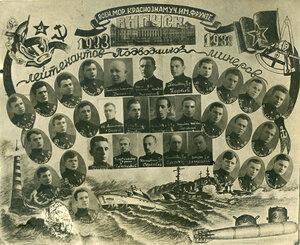1938 г. Военно-морское училище им. Фрунзе. Выпуск лейтенантов-подводников-минёров