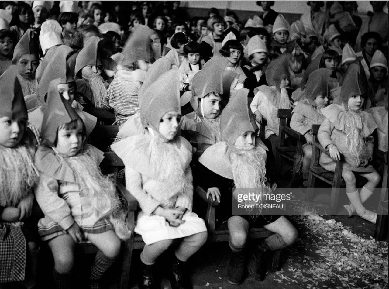 1935. Детский утренник в Жантийи
