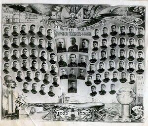 1936 г. Военно-морское училище им. М. В. Фрунзе. Первый выпуск