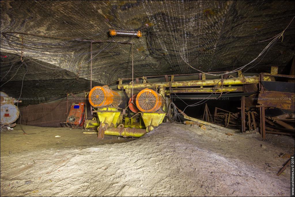 На дне древнего моря Соляная шахта