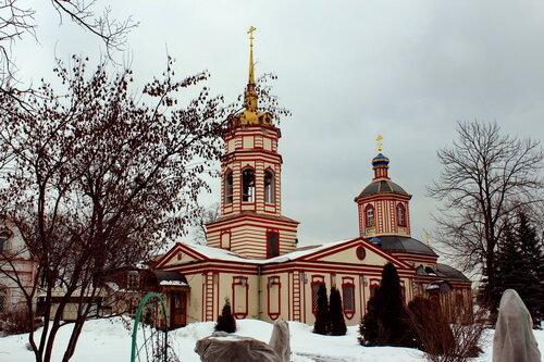 Церковь Воздвижения Честного Креста Господня в Алтуфьево