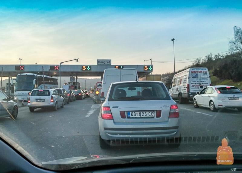В Сербии нужно платить по факту пройденного расстояния