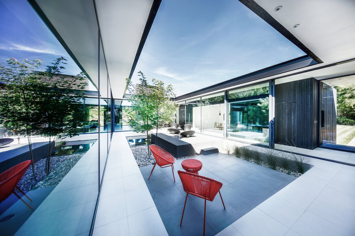 Стильный частный дом в Хэмпшире